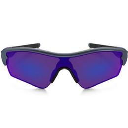 $enCountryForm.capitalKeyWord UK - Fashion Bicycle Sunglasses Men Rader Sun Glasses Bike Half Frame Cycling Brand Designer Male UV400 Sport Eyewear with case Sale