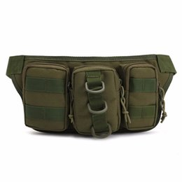 Wholesale Tactical Camouflage Water Resistant Outdoor Traveling Waist Pack Bag Fishing Tackle Storage Camping Hunting Multifunction Bag