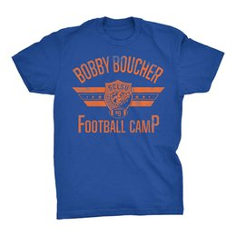 White Boy T Shirts UK - Bobby Boucher Football Camp - Mud Dogs Water Boy Funny Vintage Movie T-Shirt