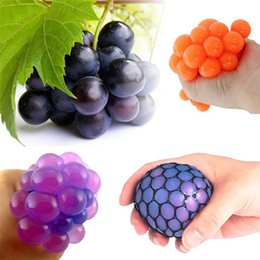 Gadget Geeks Australia - JUXU Funny Anti Stress grape stress ball autism ball Mood Squeeze Relief Healthy Toy Funny Geek Gadget Vent Toy