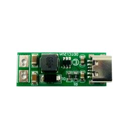 usb boost module UK - 9W mini Type-C USB DC 5V to 6V 9V 12V 15V 24V DC DC Boost Step-up Converter PWM PFM Voltage Regulator Module