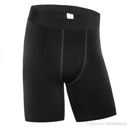 Wear Compression Shorts Australia - New Brand Running Shorts for Mens Fitness Gym Jogger Short Pant Quickly dry Compression Clothing Tight Wear Cycling Underwear Plus Size XXXL