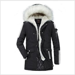 $enCountryForm.capitalKeyWord UK - Fashion Luxury Big Fur Collar Men's Long Coat Thick High Quality Mens Winter Jackets Designer Winter Clothing Size S-2XL