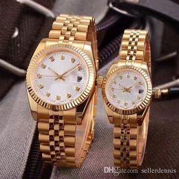 $enCountryForm.capitalKeyWord Australia - Top Luxury Watch Couples Style Classic Automatic Movement Mechanical Fashion Men Mens Women Womens Watch Watches Wristwatch