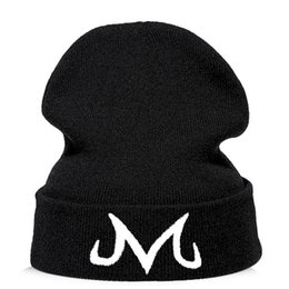 Wholesale Majin Buu Beanie hat For Men Women Fashion Knitted Winter Hat Skullies Cap Drop shipping