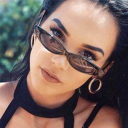 Cheap Ladies Designer Sunglasses NZ - 6 styles Vintage Small Cute Sexy Ladies Cat Eye Sunglasses Women 2019 Retro Cheap Narrow Brand Designer Sun Glasses Female UV400 bldz001