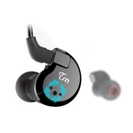 Cable Run UK - Newest Hot TRN V80 2BA+2DD Hybrid Metal In Ear Earphone HIFI DJ Monito Running Sport Earphone Earplug Headset Detachable Cable AS10\T2\V30