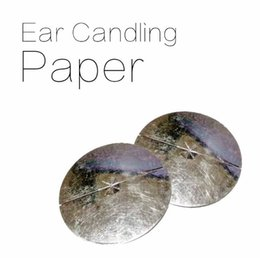 indian candles Australia - Hot 1000pcs Aromatherapy Indian Theraphy Ear Candle paper Health Care Beauty Product accessories Trumpet Cone Ear candles tray
