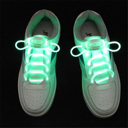 $enCountryForm.capitalKeyWord Australia - Multi-Color Neon LED Shoe laces Shoes Strap Glow Stick Light Shoelaces Accessories Holiday Party Decoration