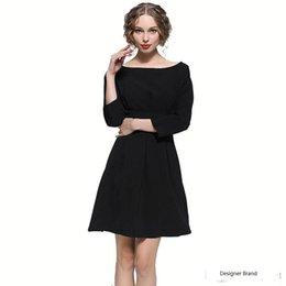 $enCountryForm.capitalKeyWord Australia - Spring Women Plus Size Dresses Casual Lady Office Pencil Dresses Wide Neck Fashion Women Dresses Free Shipping
