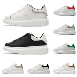 efc31f41a072e5 Designer marque de luxe blanc noir en cuir chaussures de sport 3M  réfléchissant pour fille femmes hommes rose or rouge mode confortables  chaussures de sport