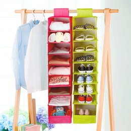$enCountryForm.capitalKeyWord Australia - 9 Cell Hanging Box Underwear Sorting Clothing Shoe Jean Storage closet organizer