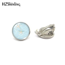 $enCountryForm.capitalKeyWord Australia - 2019 New Arrival Round No Pierced Earrings Clip Starfish Pattern Sweet Summer Accessories for Little Girls Jewelry