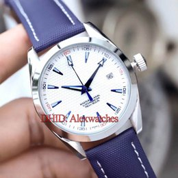 $enCountryForm.capitalKeyWord Australia - Diver Mens Watches 316L Stainless Steel Case Blue Leather Strap Wristwatches Mechanical Automatic Movement Watch Waterproof designer watch