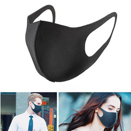 $enCountryForm.capitalKeyWord Australia - Anti-Dust Cotton Mouth Face Mask Unisex Man Woman Cycling Wearing Black Fashion High quality