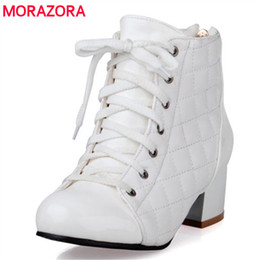 $enCountryForm.capitalKeyWord Australia - MORAZORA Large size 34-45 lady shoes low hoof heels ankle boots for women autumn warm comfortable fashion boots neutral