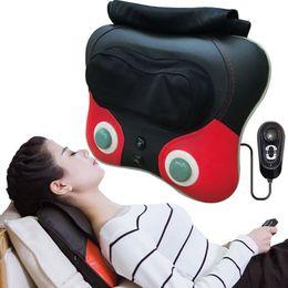 $enCountryForm.capitalKeyWord Australia - Neck Massager back waist Pillow Electric Shiatsu Cervical Massager Device Household neck hip leg Body kneading Massage Cushion