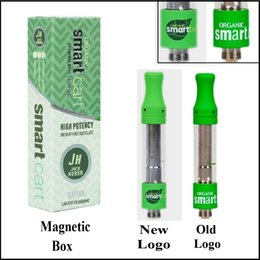 Design packaging box online shopping - New Logo Smart Cart Vape Cartridge with Magnetic Top Gift Box Package ml No Leakage Design Thick Oil Smartbud SmartCart Tank