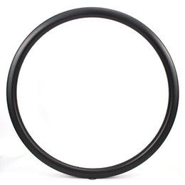 Cross Bikes NZ - 700c Carbon Fiber Rim 35mm UD Matte Surface Clincher   Tubular  Tubeless For Road Bike Cross Country