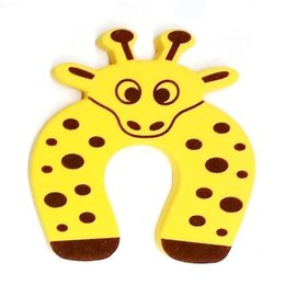 China Durable Cute Animal Door Stoppers Children Safety Door Clamp Finger Protector Home supplier door stopper animals suppliers