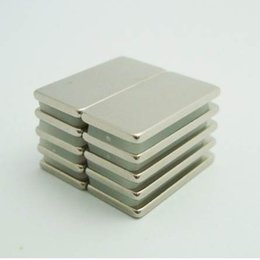 Neodymium Disc Magnets N52 Australia - 10pcs Super Strong Rare Earth Bar Neodymium Magnets N52 block 20x10x1.5mm Permanent Customizable Magnet Block, Free Shipping