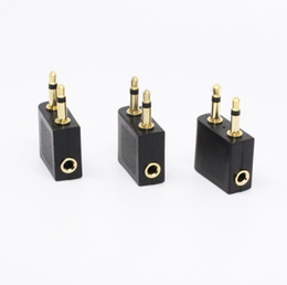 Audio Jack Cord Australia - 3.5mm Female To 2RCA Male Audio Video Cable Stereo Jack Adapter Cord