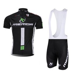 bikes merida cycling team 2019 - 2019 Merida Team Cycling Clothing Racing Bicycle Wear Men Cycling Jersey Suit Summer quick dry Short Sleeve MTB Bike Clo