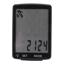 cycling computer wireless UK - Bike Wireless Bicycle Computer 28 Large Screen Speedometer Waterproof Cycling Luminous Computer Odometer With Bracket Pet Supplies