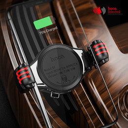 Qi For Iphone Australia - Hoco Car Qi Wireless Charger 10w Fast Charging Stand For Iphone X Xs Xr Samsung S9 Car Roller Mount Mobile Phone Air Vent Holder J190427