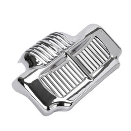 Oil Cooler Cover Case For Harley Touring Street Glide 2011-2015 Silver on Sale