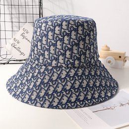 Wholesale beach cowboys for sale – custom New fashion casual fisherman hat men s and women s letters sun hat women autumn and winter Korean version of the tide double faced jacquard