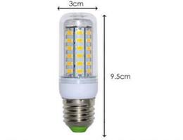 Опт Высокое качество ультра-яркий светодиодный светильник E27 110 В SMD 5730 чип 360 угол луча свет кукурузы свет лампы освещения 36led