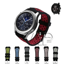 Gear Fit Bracelet Australia - New Silicone Bracelet Strap Sport Soft Watch Band For Fitbit Versa Samsung Gear S3 Silicone Breathable Replacement Quick Easy Fit Strap Band