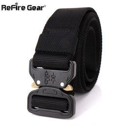 Apparel Accessories Hot Sale Combat Military Equipment Tactical Belt Men 1000d Nylon Metal Buckle Knock Off Belts Us Army Soldier Carry Waist Belt 4.3cm