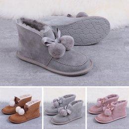 chaud à haute 2020 meilleures bottes de concepteur dames Australie hiver pour aider des bottes de neige bottes courtes arc chaussures pour hommes pois plat classique uf3645 en Solde
