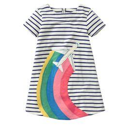 c5b8605cd1f Vestidos Baby Girls Dress Unicorn Summer Beach Flmingo Dress Princess  Costume Kids Party Dresses for Girls Children Clothing
