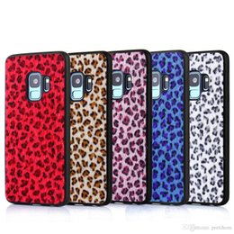 Plush Phone Cases NZ - Leopard Plush Phone Case For Samsung Galaxy Note9 note8 S8 S9 plus S7 Ultra thin Soft TPU Silicone Cover For iphone Xs max XR X 6S 7 8 plus