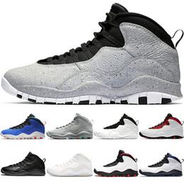premium selection 3262c 8bcda Designer 10 10s Men Basketball Shoes Orlando Tinker Westbrrook Right left Cement  Black White Cool Grey For Mens Sneaker Cheap Size 8-13