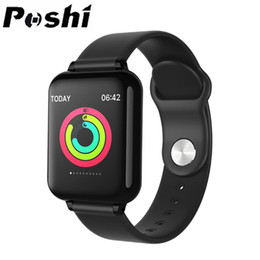smart watch android monitor NZ - Smart Watch Men Women Heart Rate Blood Pressure Monitoring Call Message Reminder IP67 Waterproof Fitness Tracker for IOS Android