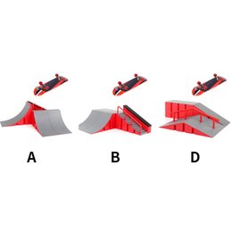 finger skateboard games NZ - Play Finger Skateboard Park Set Extreme Sports Educational Alloy Mini Ramp Gift Combination Training Indoor DIY Game Kids Toy