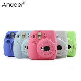 $enCountryForm.capitalKeyWord NZ -  Video Bags Lovely Camera Silicone For Mini 8 Mini 9 Instax Camera Bag Case Universal Fluorescent Fine-quality Waterproof Silicone Case
