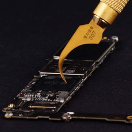 $enCountryForm.capitalKeyWord Australia - Wozniak Motherboard IC repair Blade knife Black Glue Removal Tool Newest Cold Blade Tech