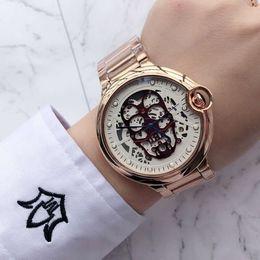 $enCountryForm.capitalKeyWord Australia - Luxury Rose Gold Men Skeleton Mens Designer Watches Japan movement Wristwatches Orologio Di Lusso royal oaks Watch Montre Orologio Da Polso