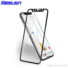 screen protect 3d 2019 - Bestsin 3D 9H Tempered glass Film Full Screen Protect Anti-Scratch For Iphone X 8 7 6 PLUS