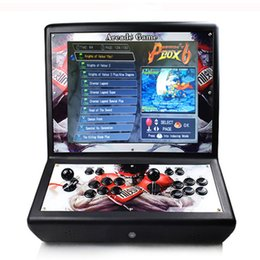 arcade game box NZ - 19 inches 2 players LCD Pandora box 9 9H 3D arcade video game console 1500 in 1 3288 in 1 2448 in 1 bartop Family arcade machine