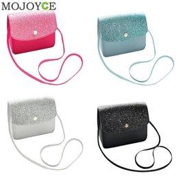 $enCountryForm.capitalKeyWord Canada - Cheap Girls Glitter Crossbody Bags Handbags Mini Shoulder Messenger Bag