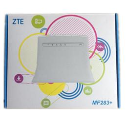 Vente en gros Nouveau routeur sans fil ZTE MF283 + / MF279 / GL09P / MF920V déverrouillé - passerelle sans fil avec 4 interfaces RJ45 1 port USB