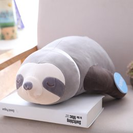 SlothS toyS online shopping - 1pc Soft Simulation New Arrival Cute Stuffed Sloth Toy Plush Sloths Soft Toy Animals Plushie Doll Pillow for Kids Birthday Gift SH190913