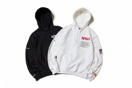 $enCountryForm.capitalKeyWord Australia - Dear2019 Hair Astronaut Nasa Circle Round Neck Even Hat Pullover Sweater Men And Women Student Easy Loose Coat Lovers With The Tide