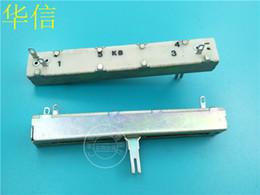 $enCountryForm.capitalKeyWord Australia - Sl60v 88mm Directly Sliding Clippers Single Lian Potentiometer B5k Handle Long 15mma Hole Foot